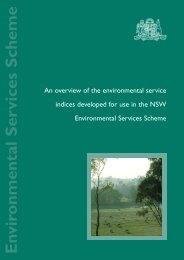 Environmental Services Scheme - Ecosystem Marketplace