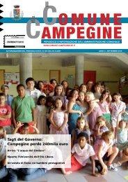 Settembre 2010 - Comune di Campegine