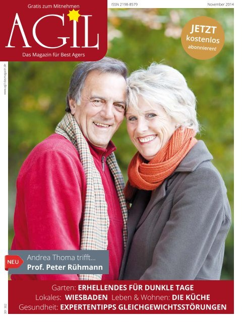 AGIL - DasMagazin, Ausgabe November 2014