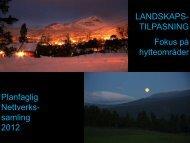 2) Landskapstilpasninger - Aust-Agder fylkeskommune