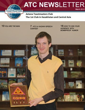 March 2012 ATC newsletter lightest.pdf - Astana Toastmasters Club