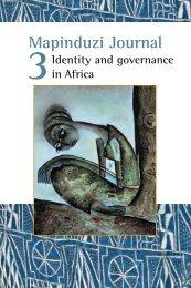 Mapinduzi Journal - Peaceworkafrica