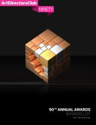 90 ANNUAL AWARDS WINNERS LIST
