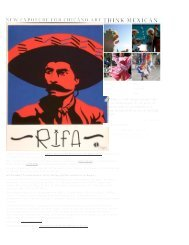 Think Mexican - the UCLA Chicano Studies Research Center