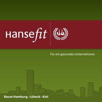 Für ein gesundes Unternehmen Raum Hamburg - Lübeck - Kiel