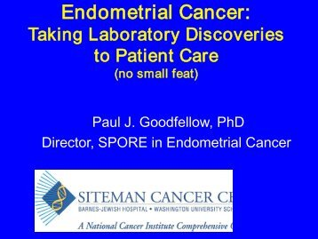 Cancer is a genetic disease - Siteman Cancer Center