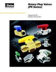 Rotary Plug Valves (PR Series) - regula servis