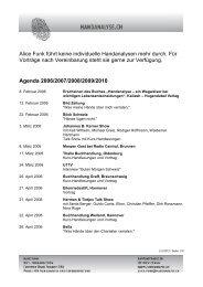 Agenda 2006/2007/2008/2009/2010 - Handanalyse