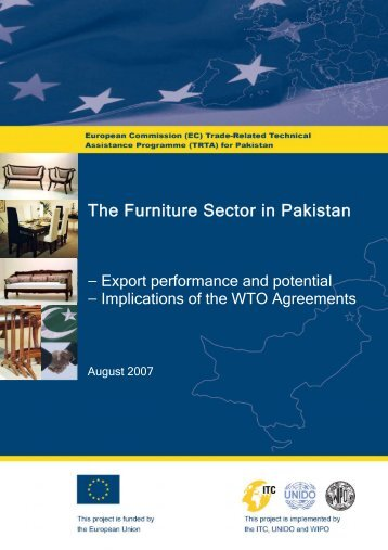 The Furniture Sector in Pakistan: Export performance and ... - TRTA i
