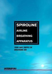SPIROLINE aIRLINE bREathINg aPPaRatuS - Interspiro