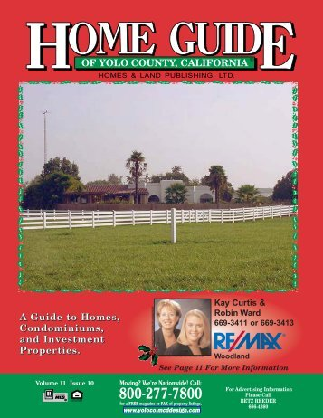 Happy Holidays! - Home Guide of Yolo County, CA