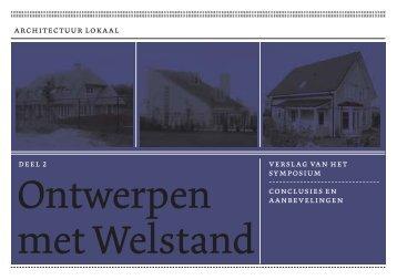 Ontwerpen met Welstand deel 2 - Architectuur Lokaal