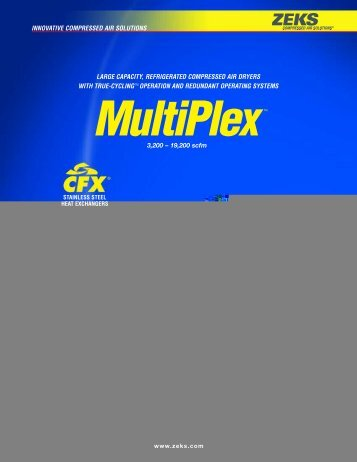MultiPlex - ZEKS Compressed Air Solutions