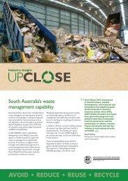 South Australia's waste management capability - Zero Waste SA ...