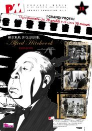 Alfred Hitchcock - Project Media