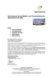 und Tourismusbranche Monatsdienst 04-2008 - Ungarn
