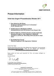 2011-10-Oktober - Pressedienst Ungarn
