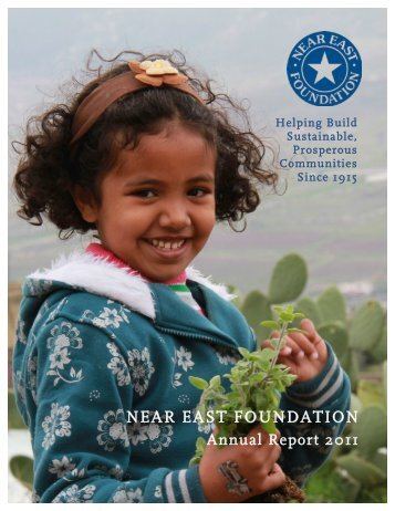 NEF 2011 Annual Report - Near East Foundation
