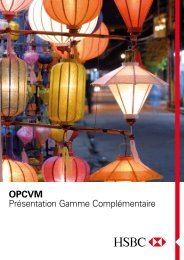Consulter la brochure Gamme Complémentaire - HSBC