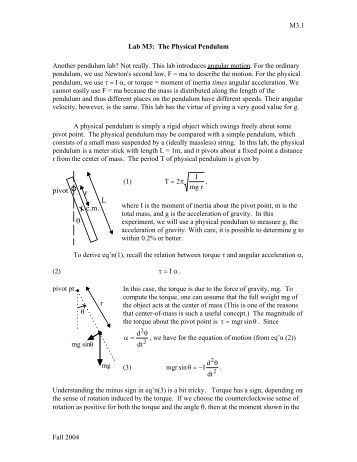 Cheap write my essay using a simple pendulum to find the acceleration due to gravity