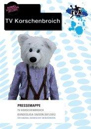 Kader saison 2011/2012, zweiTe bundesliga - TV Korschenbroich ...