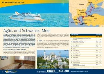 Ägäis und Schwarzes Meer