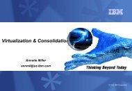 Virtualization & Consolidation - IBM