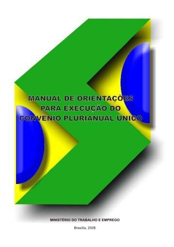 Manual de Orientações para a Execução do CPU - Ministério do ...