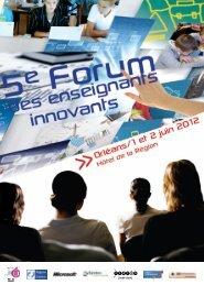 PROGRAMME FORUM ORLEANS 2012.pdf - Café pédagogique