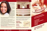 22 60 97 60 040 - 22 60 97 60 www.hansesmile.com Implantologie