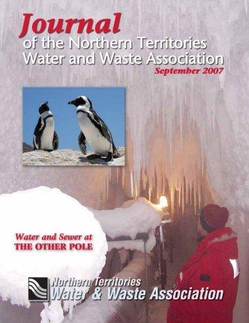 Wastewater - Northern Territories Water & Waste Association