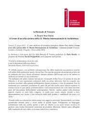 Comunicato_Leone Carriera 13. MIA_ita - Archiwatch