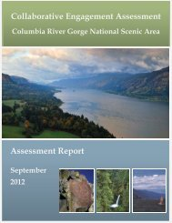 Collaborative Engagement Assessment Report - Columbia River ...