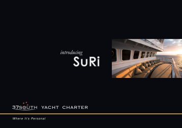 introducing - 37South Yacht Charter