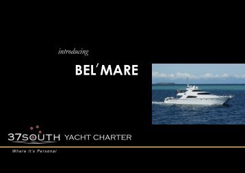 Bel'mare e-brochure - 37South Yacht Charter