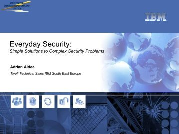 Simple Solutions to Complex Security Problems - ARTS