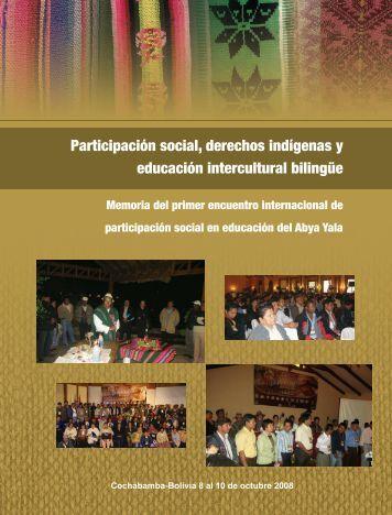 Participación social, derechos indígenas y ... - Biblioteca virtual