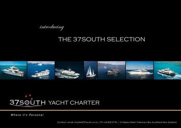 Here - 37South Yacht Charter