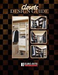 Advantage Plus Closet Design Guide - Euro-Rite Cabinets