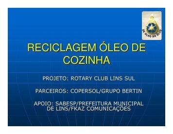 Katia Machado Cherulli - Rotary Clube Lins Sul - Sabesp