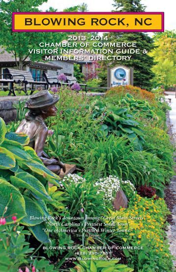 directory - Blowing Rock Chamber of Commerce