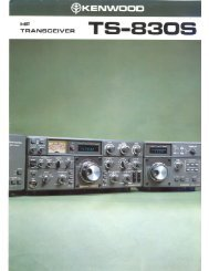 Kenwood TS-830S Transceiver (Brochure #1) - WB4HFN Home Page