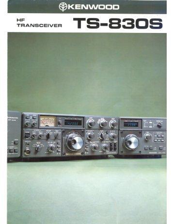 kenwood ts 830s service manual wb4hfn home page rh yumpu com Kenwood Ts 830s Review kenwood ts 830s service manual