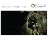 Corporate Presentation - Oracle Mining Corp