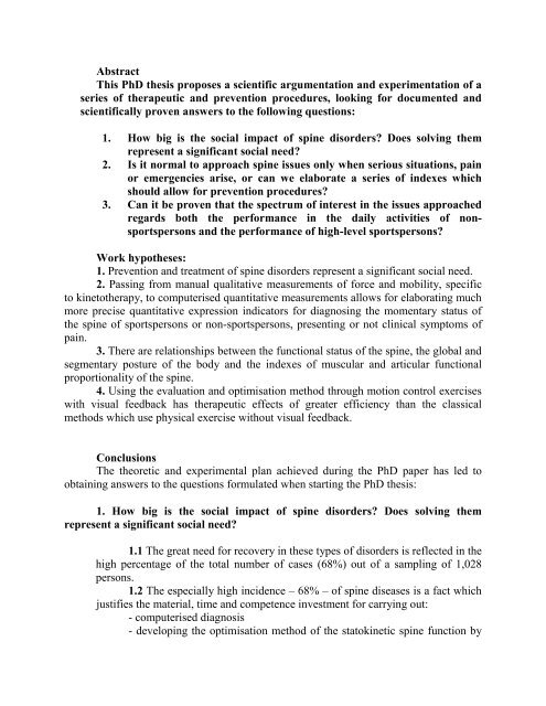 What is a dissertation abstract - The PhD Knowledge Base