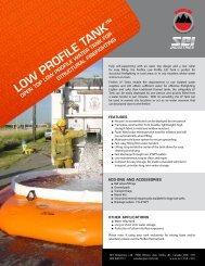 Fireflex Low Profile Tank Brochure - SEI Industries Ltd.