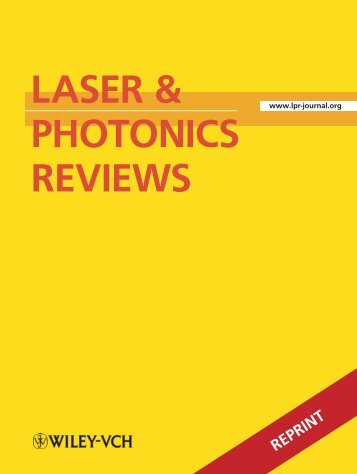 reprint - Optical Science and Engineering (OSE) - University of New ...