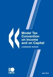 Model Tax Convention on Income and on Capital - Condensed ...