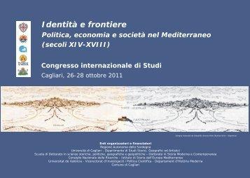 Identità e frontiere - Università degli studi di Cagliari.