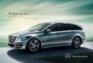R-Class Price List January 2013.pdf - Mercedes-Benz
